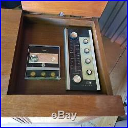 1960's RCA New Vista Vintage Color TV Radio Console Record Player MCM