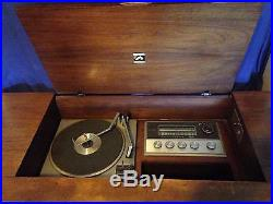 1960s victrola console record player in great condition