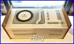 1961 BRAUN RADIO RECORD PLAYER SK6 Dieter Rams SK-6 Mid Century Modern For USA