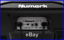 2 x Numark TTUSB DJ Turntable Deck Record Player + USB Lead + Cart + Software