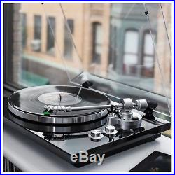 AKAI BT500 Premium Belt Drive Turntable Record Player In Black With Bluetooth