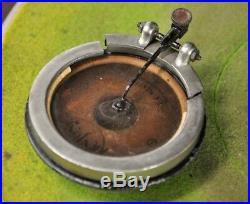 Antique Brunswick Balke & Collender Phonograph Record Player Upright Crank