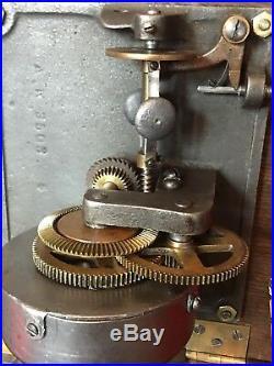 Antique DISC COLUMBIA AK PHONOGRAPH Record Player Original Working Restored