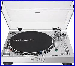 Audio-Technica 3-Speed Direct Drive Stereo Turntable Silver