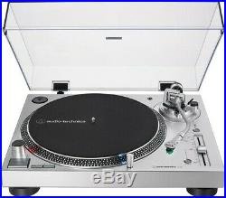 Audio Technica AT-LP120XUSB-SV Direct-Drive Fully Manual Turntable An