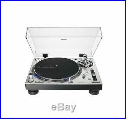 Audio Technica AT-LP120XUSB Silver Direct Drive Turntable