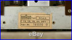 BRAUN Atelier 1-81 L1 DIETER RAMS Hans Gugelot Radiogram Radio Record Player BOX