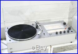 BRAUN Audio 310 radio + record player Snow White's Coffin DIETER RAMS