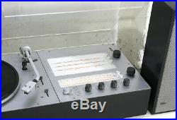 BRAUN audio 2 ^ radio + record player + Braun speakers ^ DIETER RAMS ^ year65