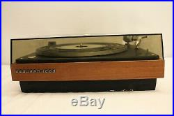 Bang & Olufsen Beogram 1000 Turntable Record Player With Stylus Diamond Sp14