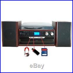 Boytone BT-24DJM Stereo Record Player Turntable System