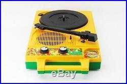 COLUMBIA Portable Turntable Record Player GP-3J XAYMACA JAMAICA Ver (mn12)