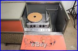 Califone Director 12v-7 1950s Dance Hall Tube Record Player Speaker System