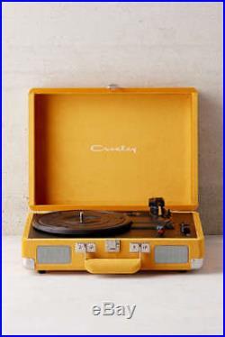 Crosley Yellow Velvet Cruiser Bluetooth Record Player