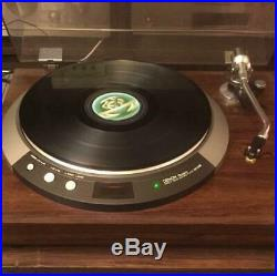 DENON Qualtz Direct Drive Record Player DP-50M Turntable LP Audio System