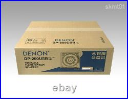 DENON analog record player USB recording function full auto DP-200USB-K DHL Fast