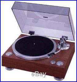 DENON analog record player wood grain DP-500M