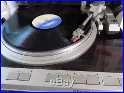 Denon Record Player DP-47F full auto player Quartz two-way servo direct drive