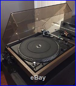 Dual 506 Turntable Record Player Serviced Tested with new belt & RCA patch cable