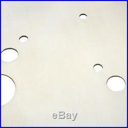 HiFi Brass Turntable Platter Mat Audiophile for Vinyl LP Record Player 2mm Pad h