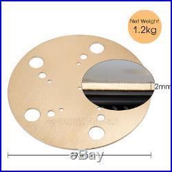 HiFi Pure Brass Turntable Platter Mat for Vinyl LP Record Player 2mm Pad Slipmat