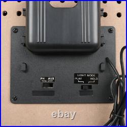 Jukebox Vinyl Record Player & Sound System CD FM Radio Bluetooth MP3 100-240V