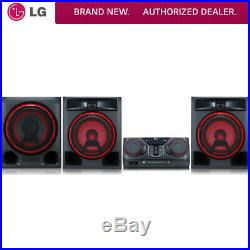 LG CK57 1100W Hi-Fi Bluetooth Speaker System with Karaoke Creator (CK57)