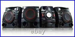 LG Mini Shelf Bluetooth Subwoofer Speaker System 700W 2.1 Channel New CM4590