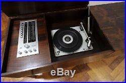 LUXUS 60s TELEFUNKEN PALISANDER STEREO RECORD PLAYER RADIO German Modern Design