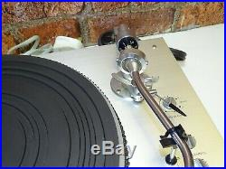 Leak 3001 Transcription Quality Vintage Vinyl Record Player Deck Turntable