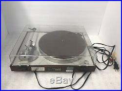 Luxman PD-284 Direct Drive Record Player Turntable in Very Good Condition
