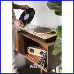 Marley EMJT000SB Stir It Up Turntable/Vinyl/Record Player/USB to PC/Bamboo/Black