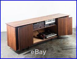 Mid Century Modern Stereo Console Credenza Prelude Ace Hi Radio Record Player M