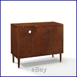 Mid Century Style Record Player Media Storage Console Cabinet Sideboard Stand