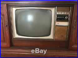 Motorola Vintage TV/Record Player/Radio Console