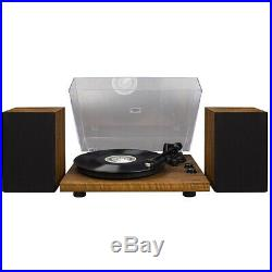NEW Crosley C62A-WA 2 Speed Bluetooth Turntable Record Player with Speakers
