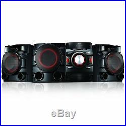 NEW LG Bluetooth 700W 2.1 Shelf Stereo System CD Player Dual USB Auto DJ Remote