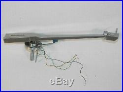NOS Vtg General Electric GE TM-2G Transcription Record Player Turntable Tone Arm