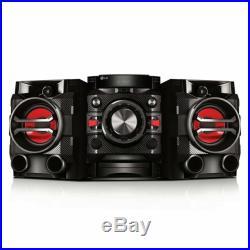 New LG Bluetooth 230W Hi-Fi Shelf Stereo CD Player System FM AUX-IN USB Auto DJ