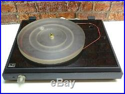 Pink Triangle LPT Little Pink Thing Vintage Vinyl Turntable Record Player Deck