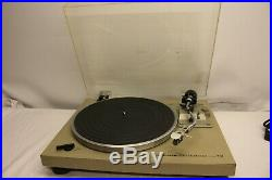 Pioneer Pl-512 Belt Drive Stereo Turntable Record Player Anti-skating
