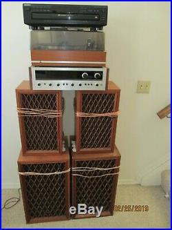 Pioneer home stereo system withturn table