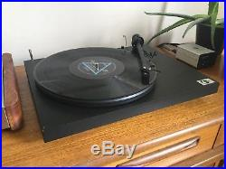 Pro-Ject P1.2 turntable Record Player/Deck Black Hifi Separate Debut P 1.2