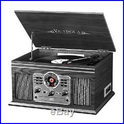 Retro Vintage Radio CD Cassette MP3 Record Player Bluetooth Turntable Vinyl LP
