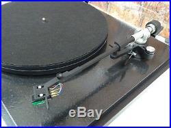 Revolver GZ 2 Speed Vintage Record Player Deck Turntable + ADC Tonearm