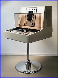 Rosita Commander Luxus Philips Record Player Turntable Radio Hifi System 70s Vtg