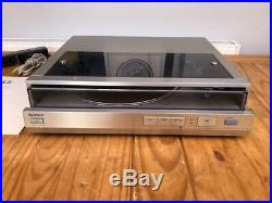 SONY PS-FL5 Front-Loading Turntable/Record Player in Excellent Condition