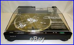 SONY PS-X800 Linear Tracking Tangenital Biotracer STEREO TURNTABLE RECORD PLAYER
