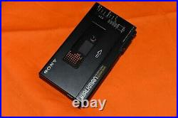 SONY WM-D6C Walkman Professional Cassette Player Recorder Working New belts