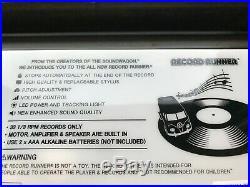 STOKYO Record Runner Portable Record Player Volkswagen Soundwagon Royal blue